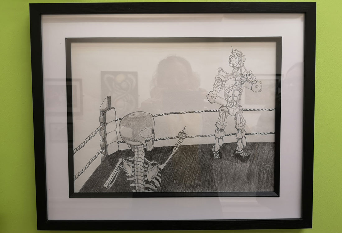 Project Inc. Student Exhibits Locally: Works Inspired By Theodore Major At The Turnpike